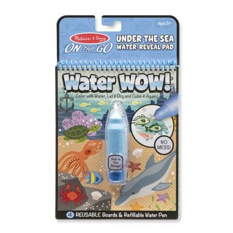 Melissa & Doug Under the Sea Water Reveal Pad