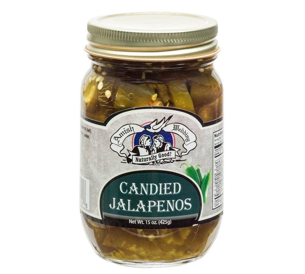 Amish Wedding Foods Candies Jalapeno Peppers - 425g