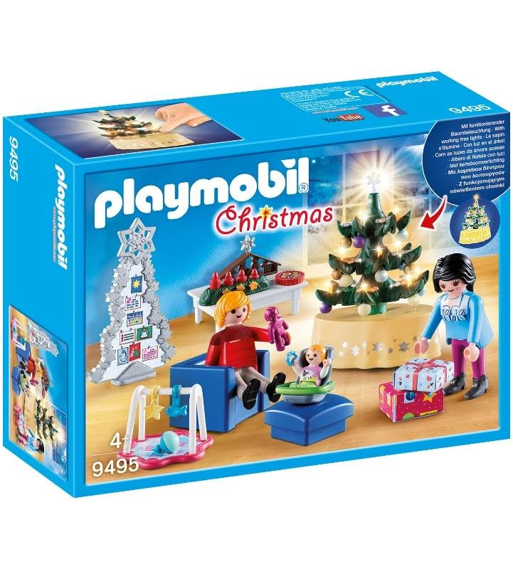 Playmobil 9495 Christmas Living Room Playset