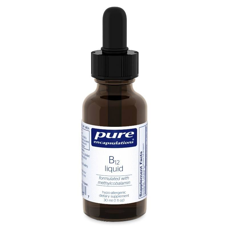 Pure Encapsulations B12 Liquid Supplement - 30ml