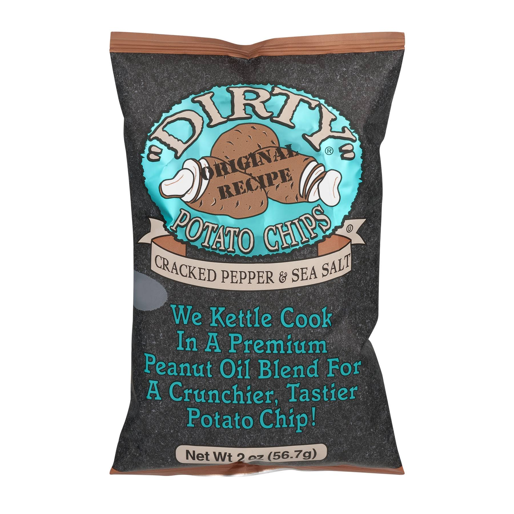 Dirty Potato Chips - Cracked Pepper & Sea Salt
