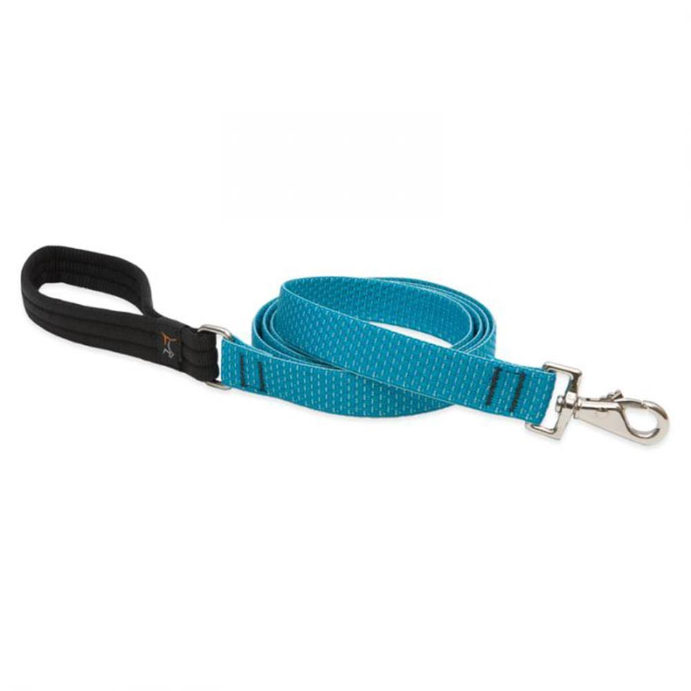 Lupine Dog Leash 6-Foot x 1 inch Tropical Sea