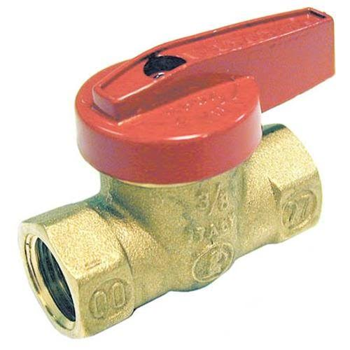 Mueller Global Brass Gas Ball Valve - 3/8""