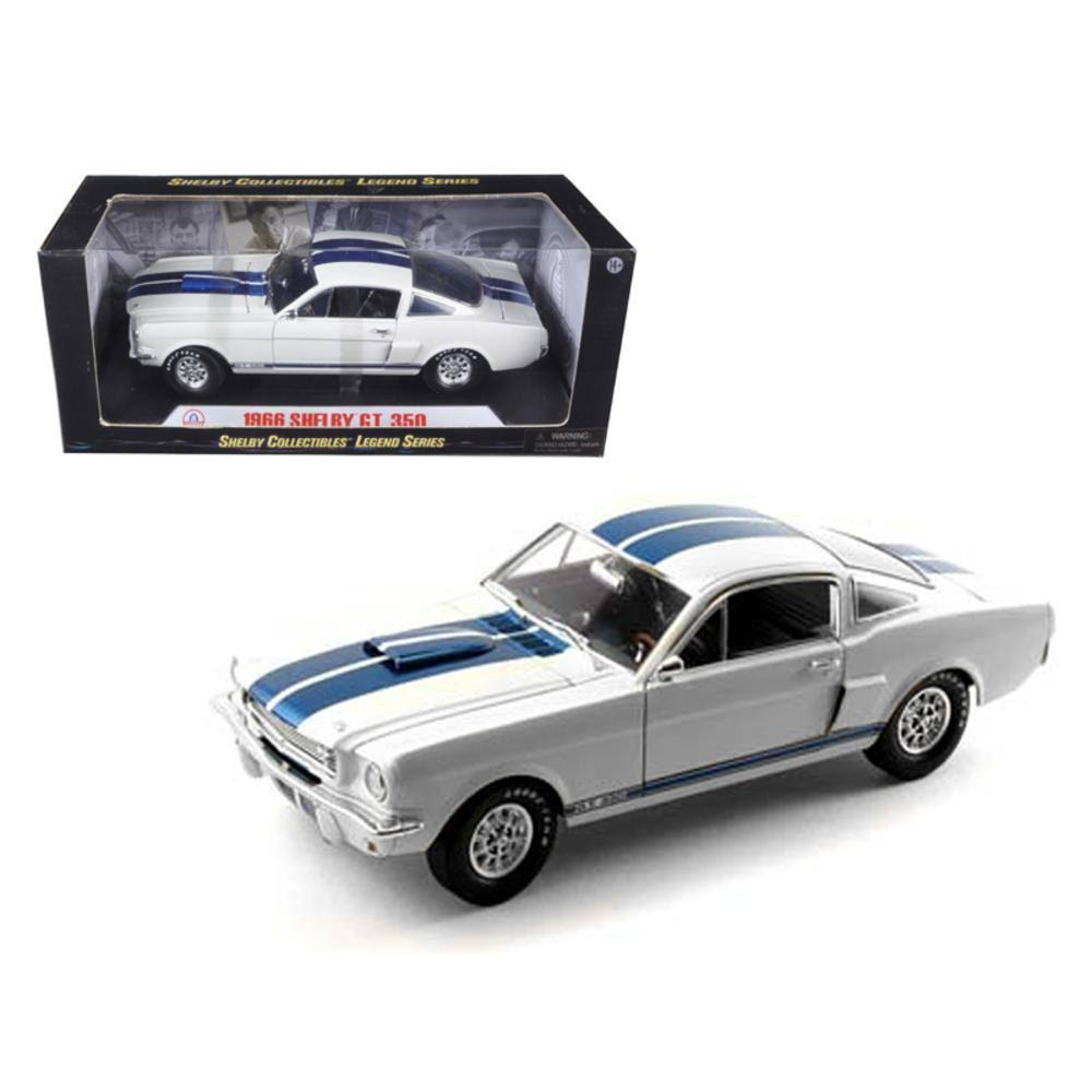 Shelby Collectibles 1966 Shelby GT 350 Car Model Kit - 1:18 Scale