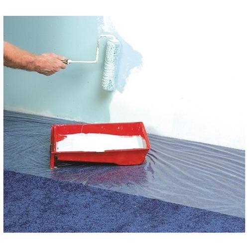 "Surface Shields 24"" x 50' Clear Carpet Shield"