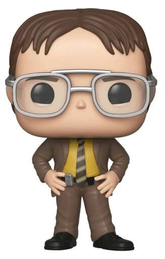 Funko Pop The Office Vinyl Figure - Dwight Schrute
