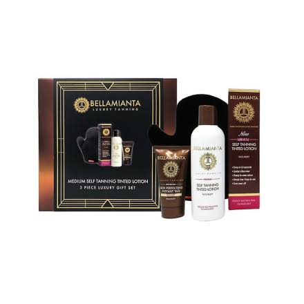 Bellamianta Medium Self Tanning Tinted Lotion Gift Set