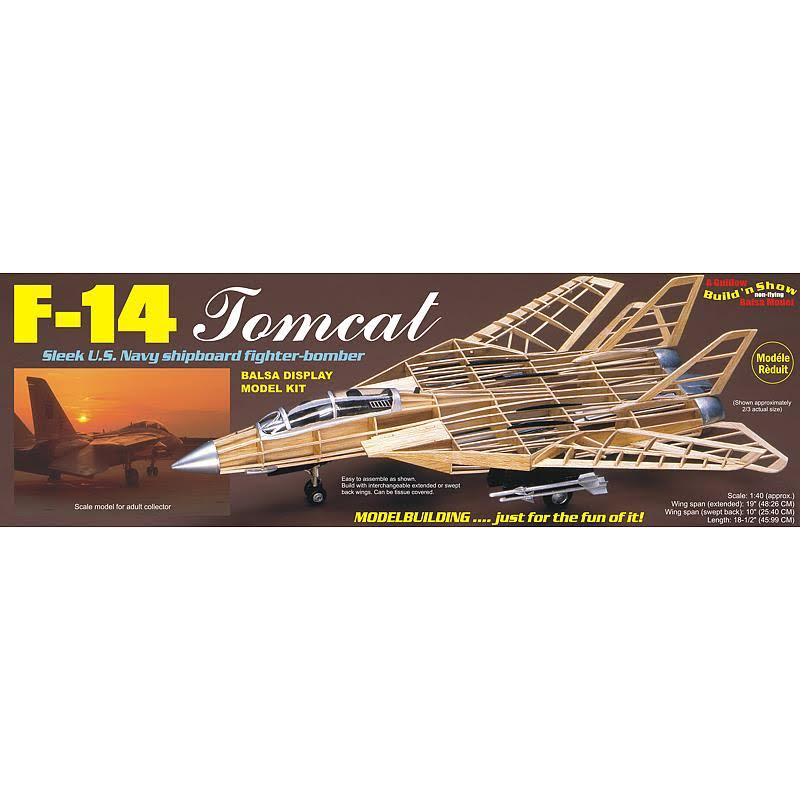 Guillow F-14 Tomcat Model Airplane