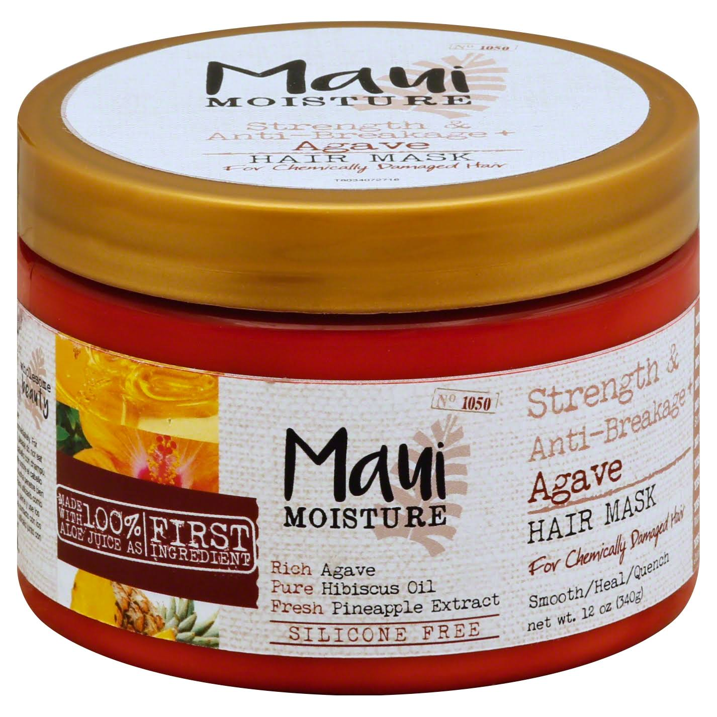 Maui Moisture Strength and Anti-Breakage Agave Hair Mask - 12oz