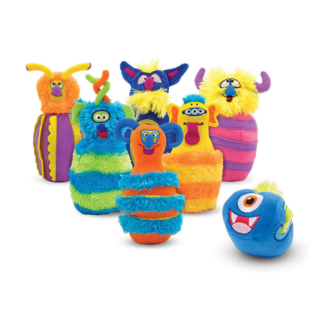 Melissa and Doug Monster Bowling Toys Plushies Play Set