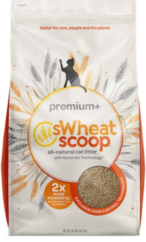 Swheat Scoop Premium Cat Litter - 36lbs