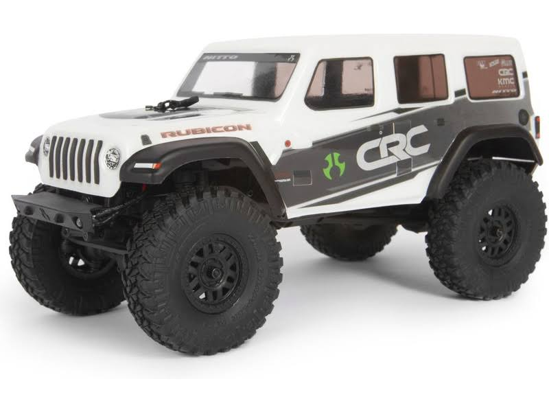 Axial AXI00002T1 Jeep Wrangler 4WD RC Model Kit - White, Scale 1:24
