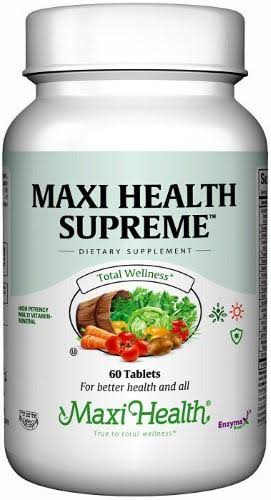 Maxi Health Supreme High Potency Multivitamin - 60 Tablets