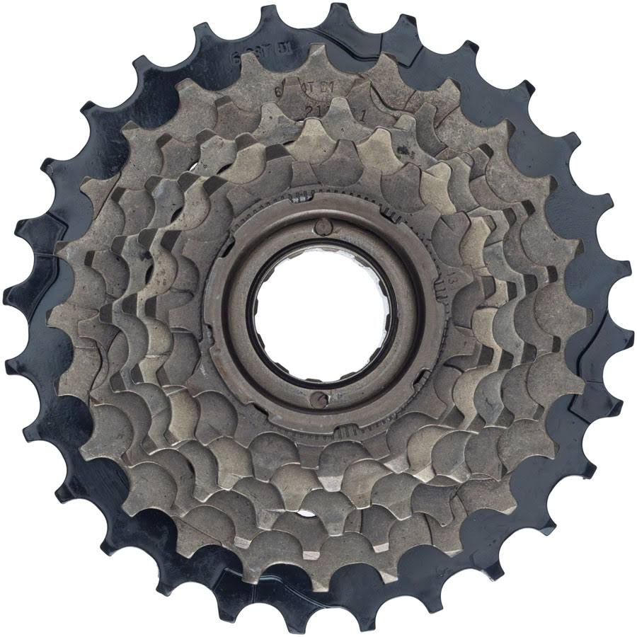 Dimension 7-Speed 13-28t Freewheel Brown and Black