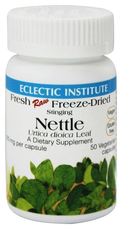 Eclectic Institute Nettles Leaf Supplement - 300mg, 50 Caps