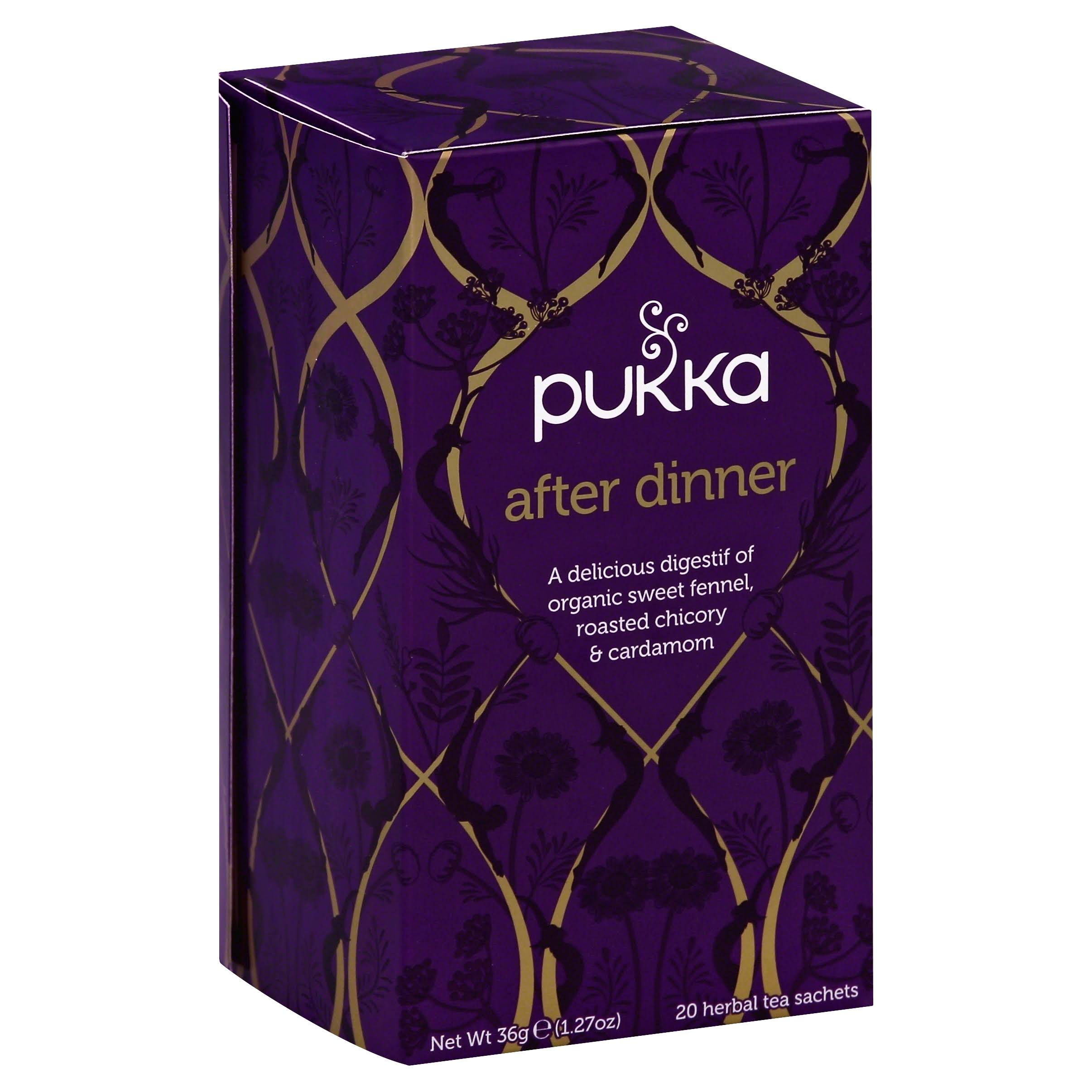 Pukka Organic After Dinner Herbal Tea - 20 Sachets