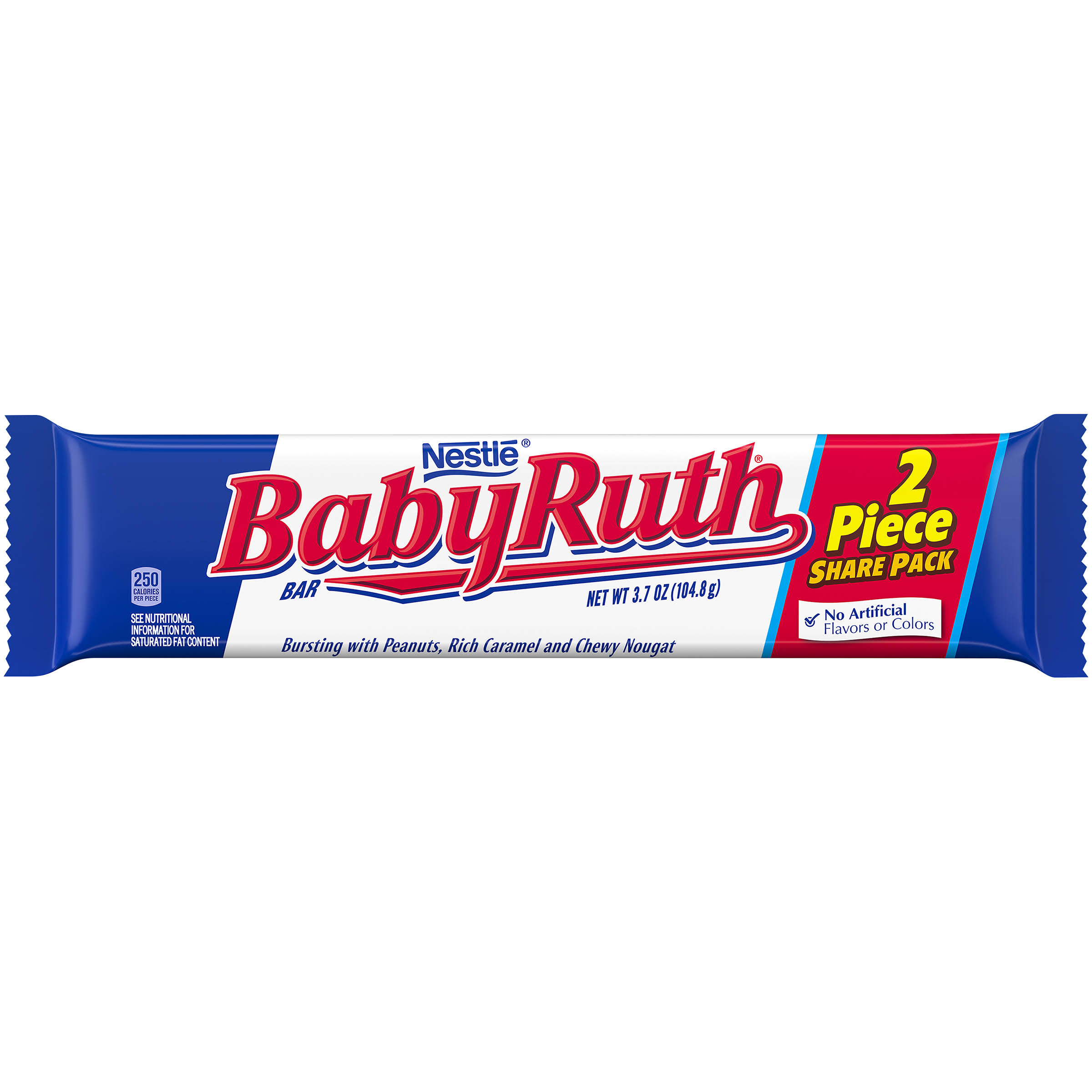 Nestle Baby Ruth Candy Bar - King Size, 3.7oz