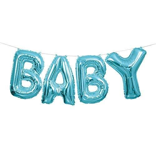 Unique Industries Baby Balloon Banner Kit - Blue