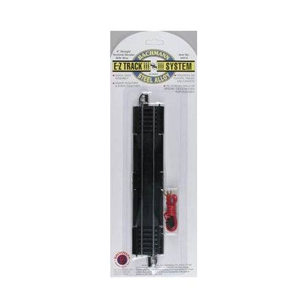 "Bachmann 44410 Terminal Rerailer Straight Track - 9"", Ho Scale"