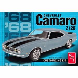 AMT 1968 Chevy Camaro Z28 Model Car Kit