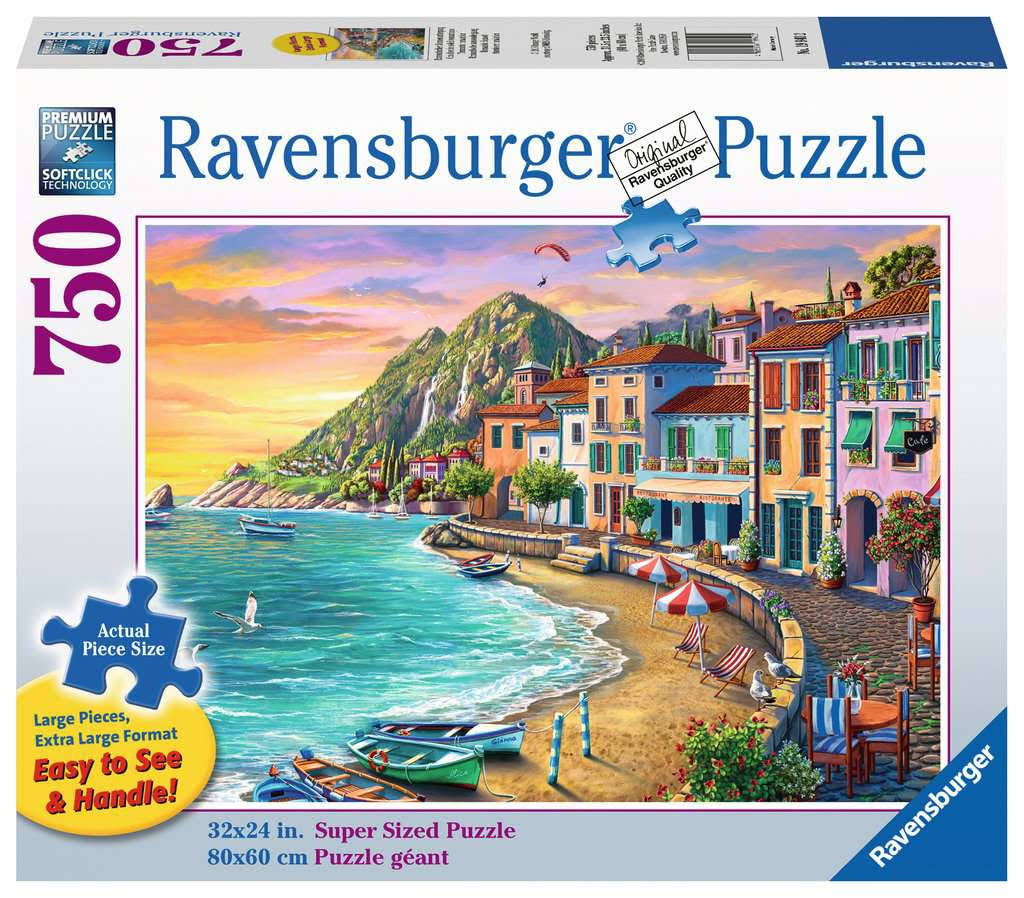 Ravensburger Romantic Sunset 750 Piece Large Format Puzzle