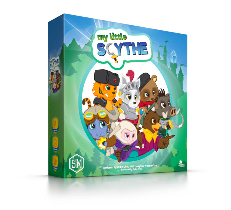 Stonemaier Games STM800 My Little Scythe Board Game