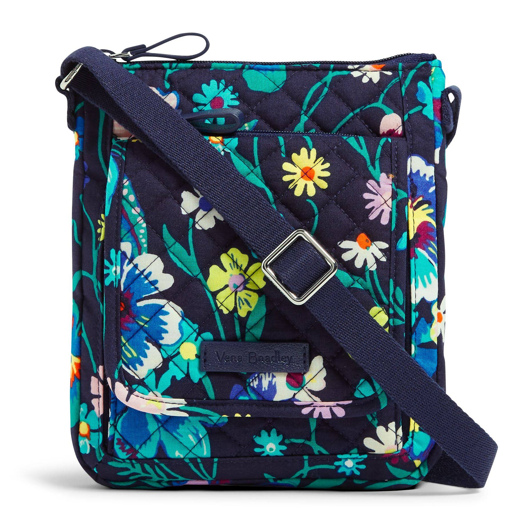 Vera Bradley Iconic RFID Mini Hipster in Moonlight Garden