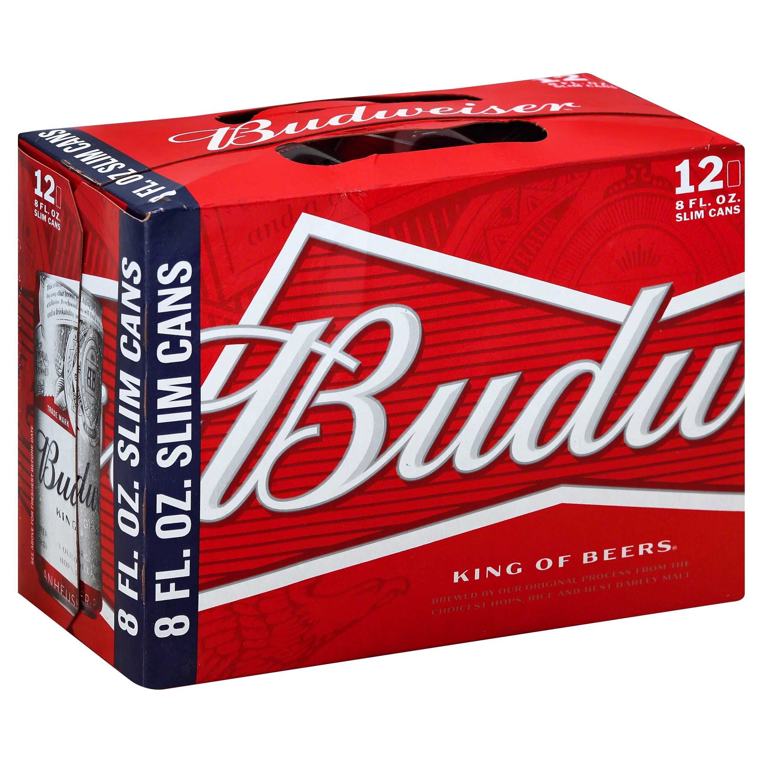 Budweiser Beer - 12 Cans