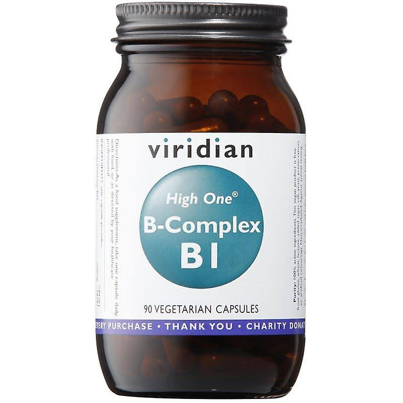 Viridian High One Vitamin B1 with B Complex 90 Caps