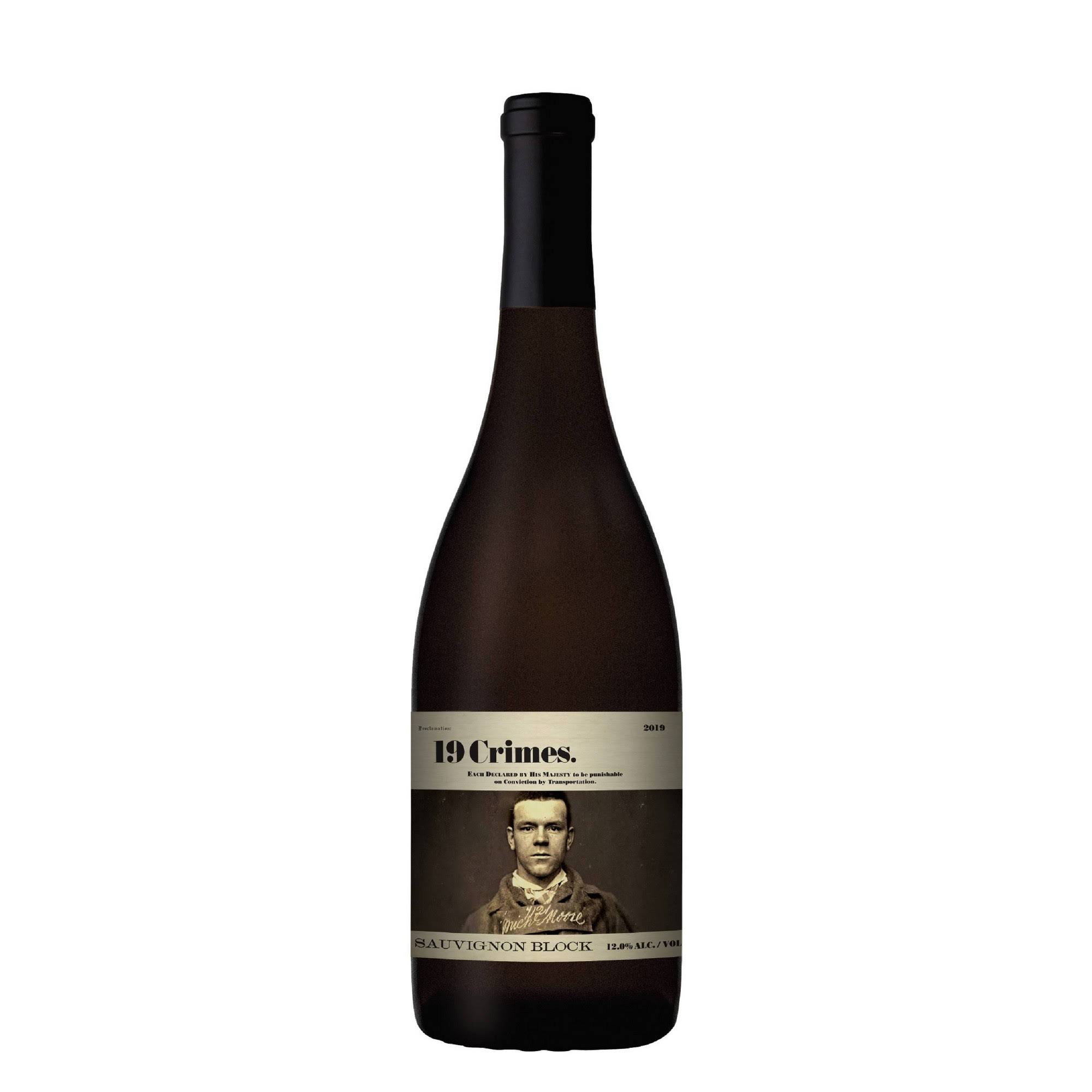 19 Crimes Sauvignon Block 2019 / 750 ml.