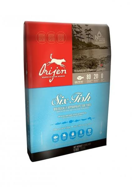 Orijen Six Fish Dog Food - 6.8kg