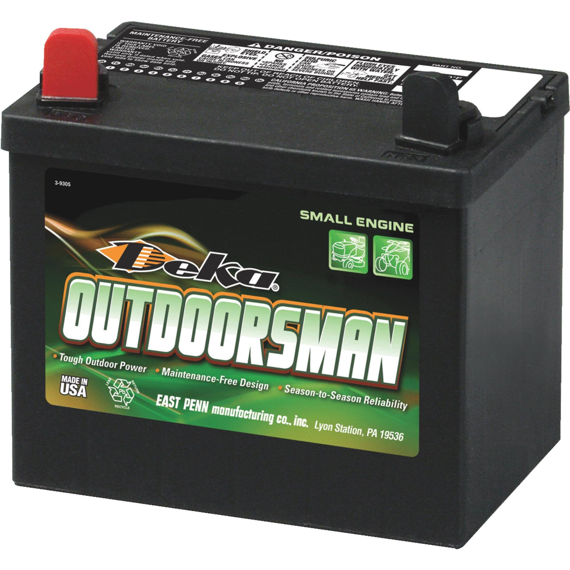 East Penn Manufacturing Company Deka Outdoorsman Battery