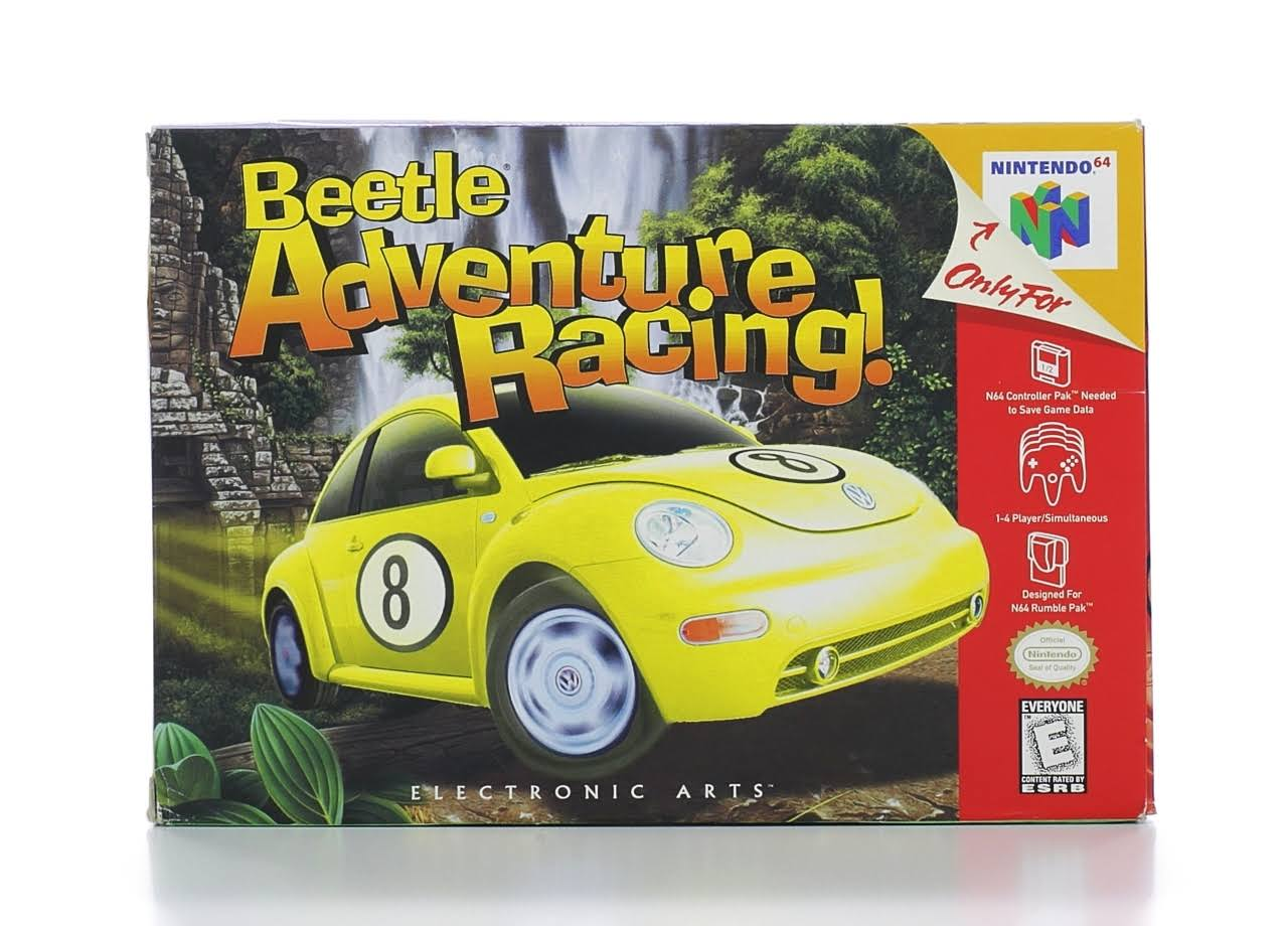 Nintendo 64 Game Beetle Adventure Racing