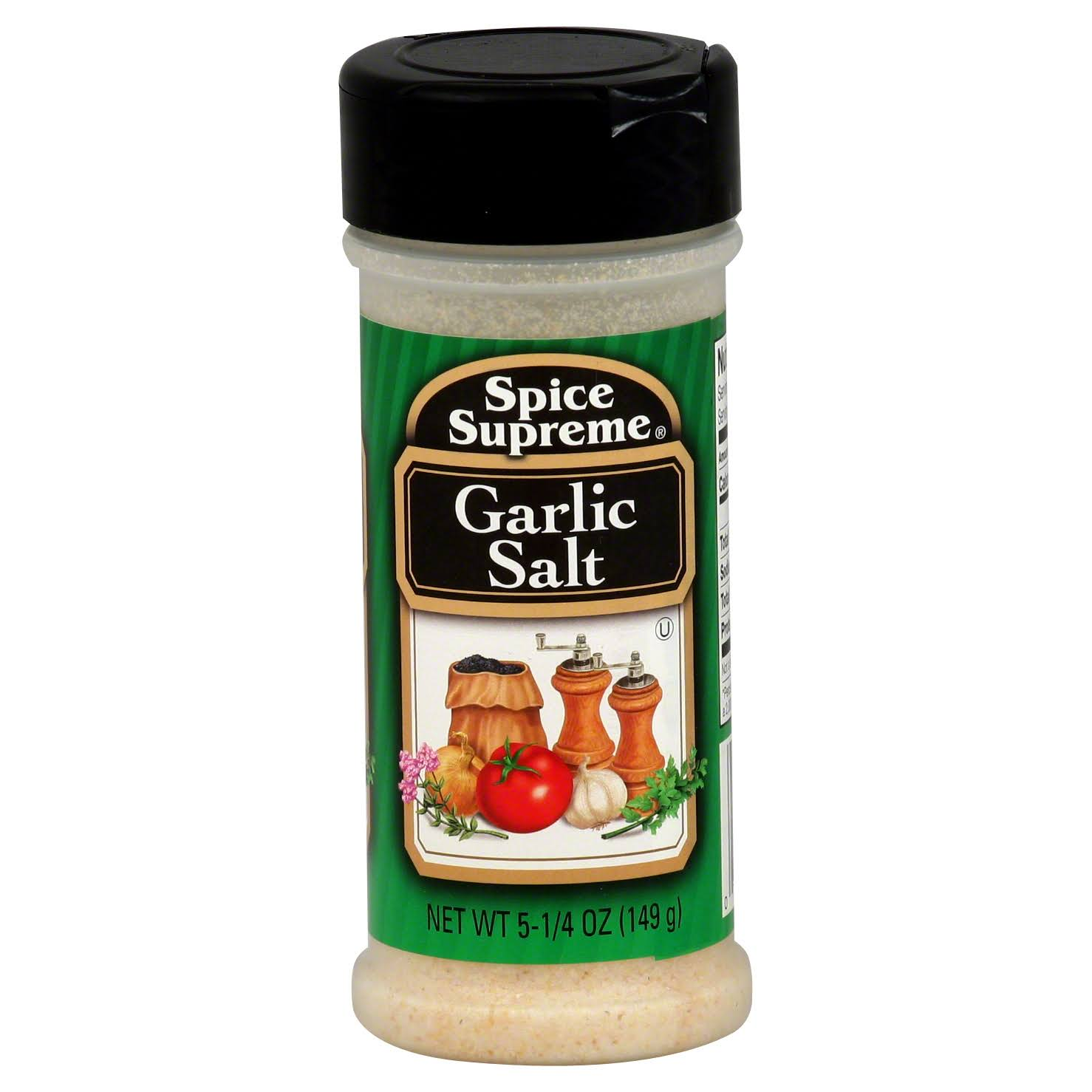 Spice Supreme Garlic Salt - Case of 12