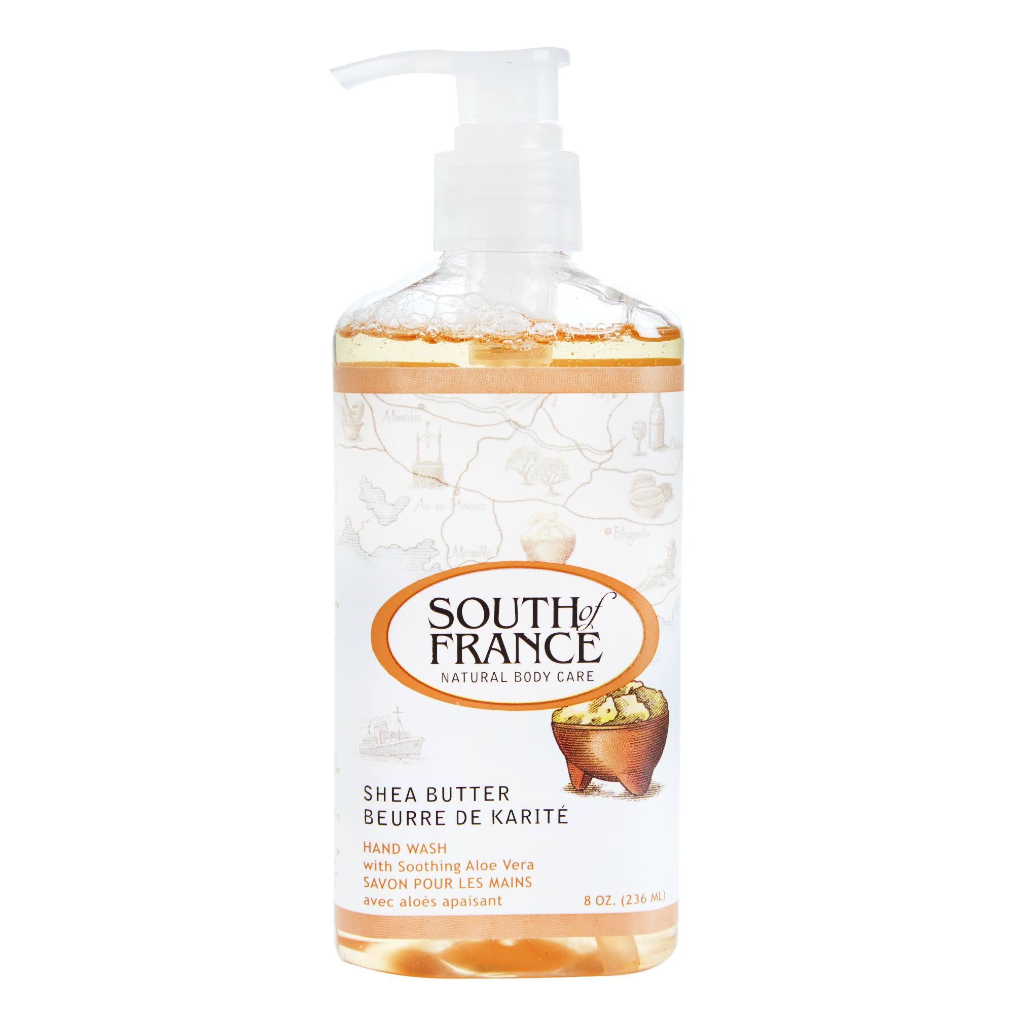 South of France Shea Butter Hand Wash - 8oz