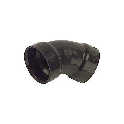 Genova Products 45 Degree Abs Elbow - Black, 1-1/2""