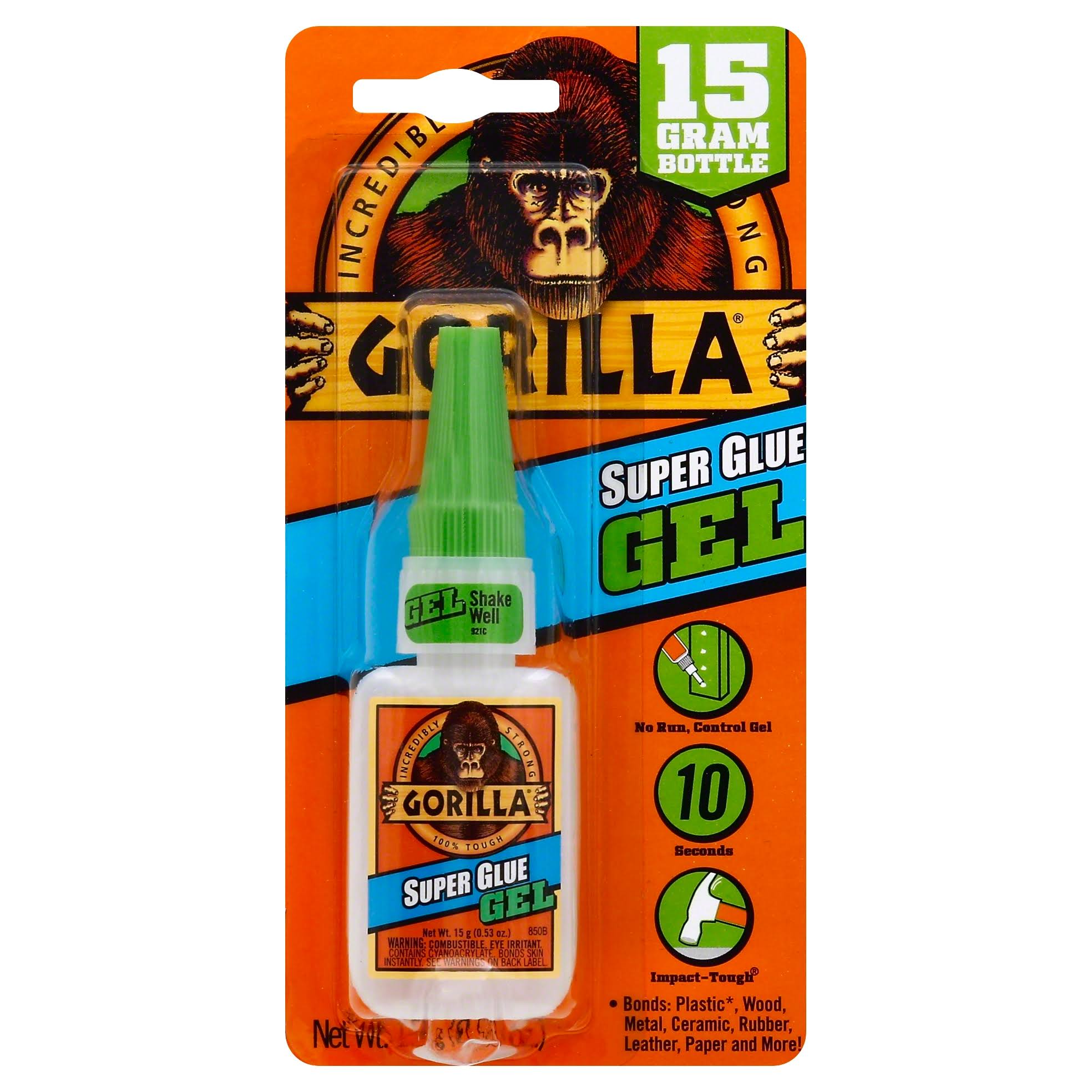 Gorilla Super Glue Gel - 15g