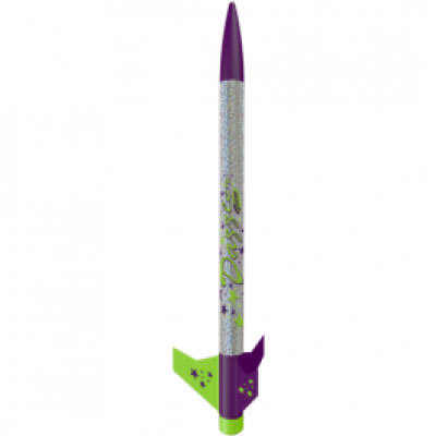 Estes Dazzler Flying Model Rocket Kit - 1:100 Scale