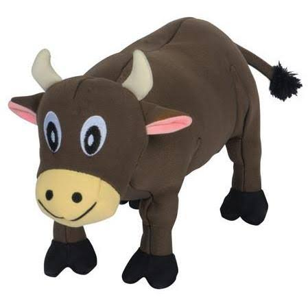 Smart Pet Love Tender Tuff Brown Cow Dog Toy