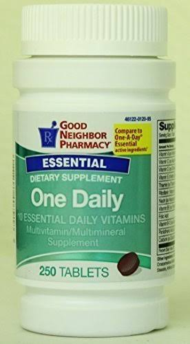 GNP Essential One Daily Vitamins, 100 Tablets