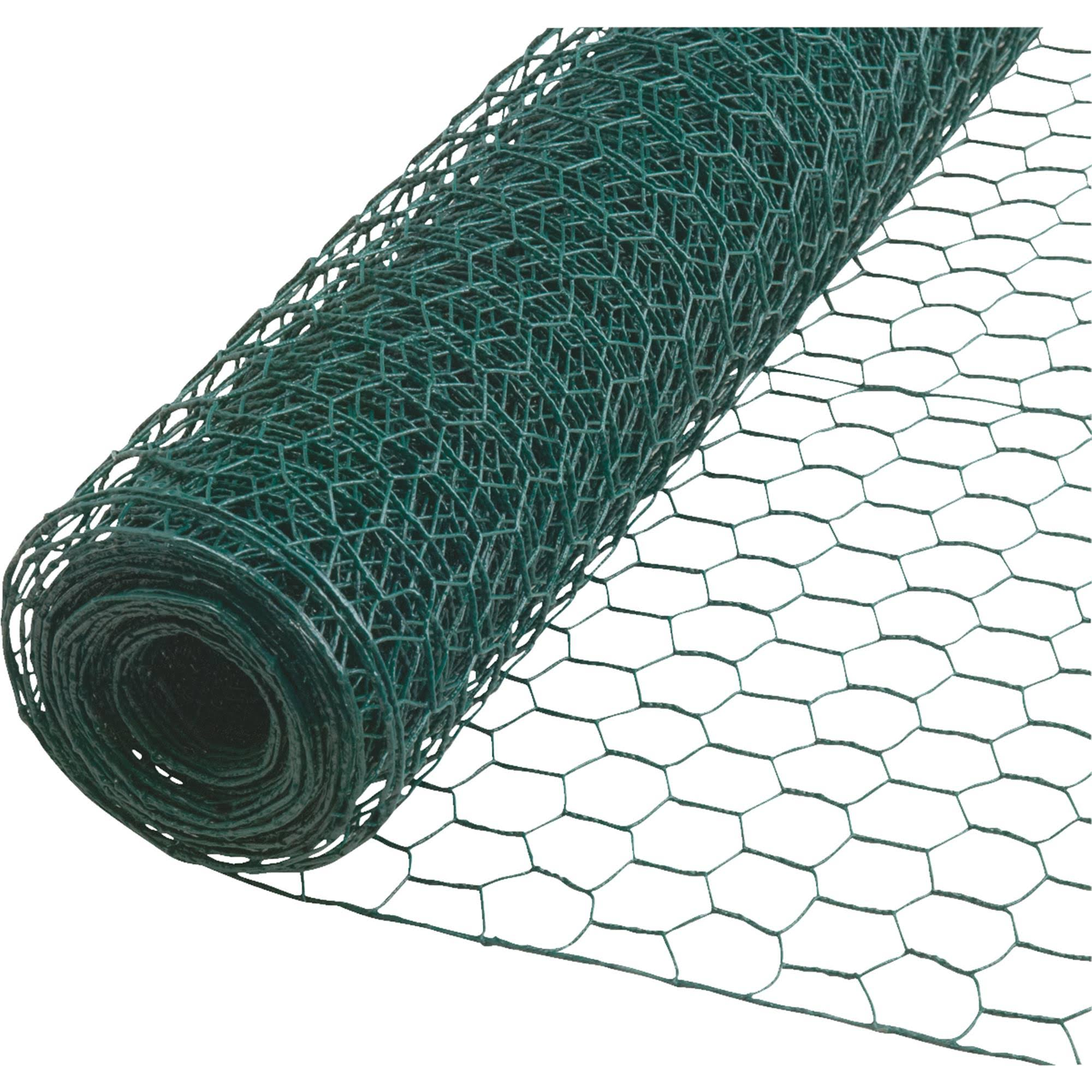 "Sim Supply Poultry Net - Green, 24"" X 25'"