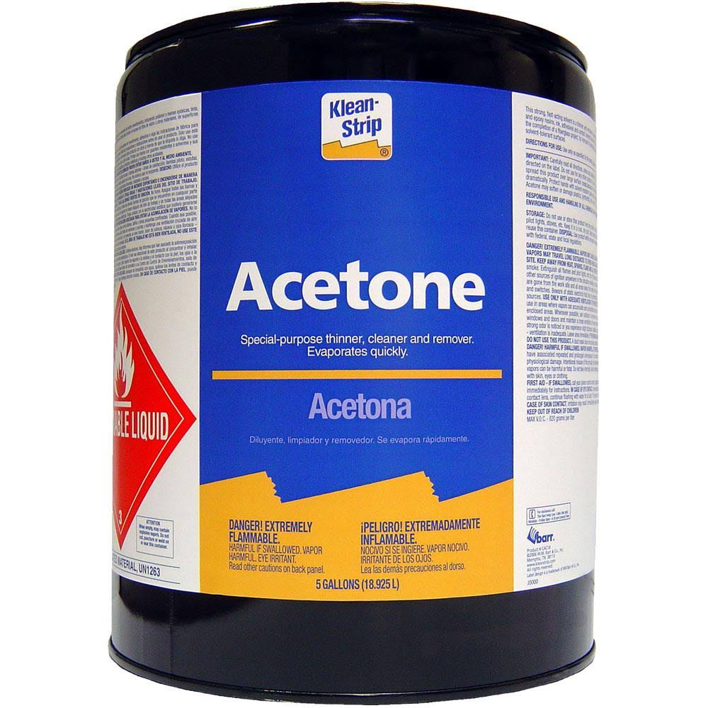 Klean-Strip Acetone Thinner - 5 gal