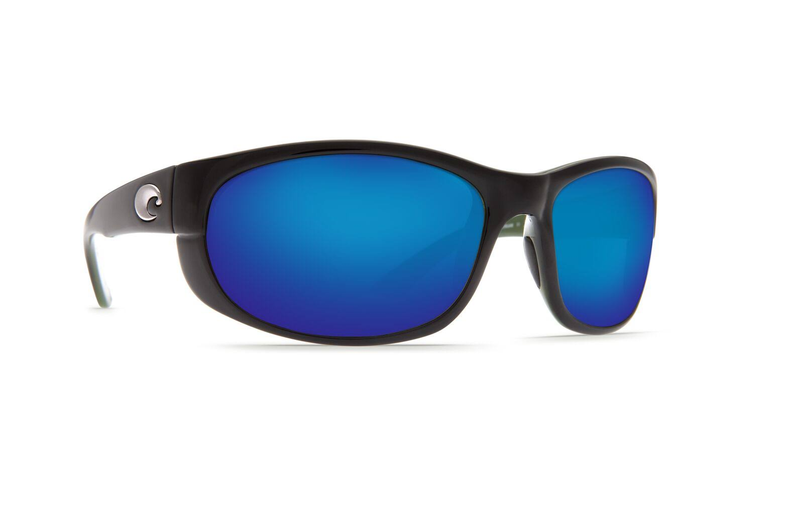 Costa Del Mar Howler Sunglasses - Black Frame, Blue Mirror 580G Lens