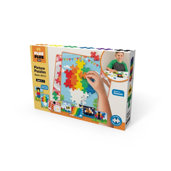 Plus-Plus Big Picture Puzzles - Basic Color Mix