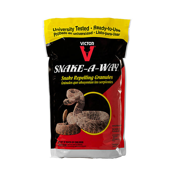 Victor Snake A Way Repelling Granules - 4lbs