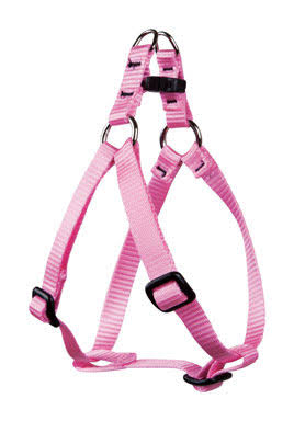 Lupine Step-In Dog Harness - Pink, 1/2in Width, 10-13in Girth