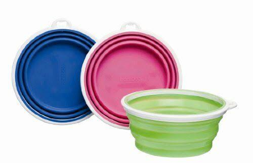 Bamboo Silicone Travel Bowl, 3 Cup