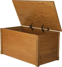 Build Wooden Toy Chest by Oak Toy Box And Blanket Chest Abcs