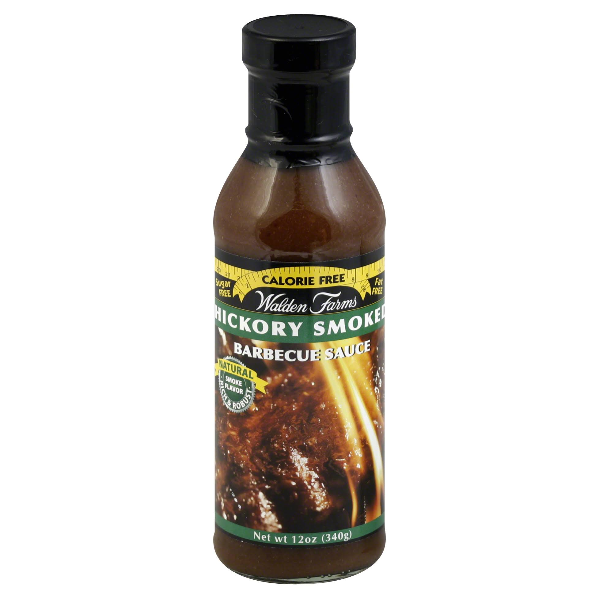 Walden Farms Near Zero Barbecue Sauce - 340g, Hickory Smoked