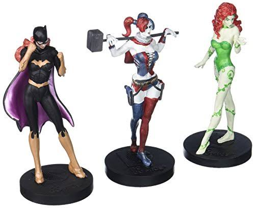 Eaglemoss DC Masterpiece Collection 2 Batman Figure Set - Femme Fatales